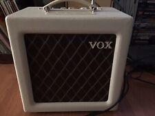 "Vox AC4TV 4-Watt 1x10"" Tube Guitar Combo Amplifier With Celestion Greenback, EHX"