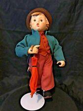 Goebel Hummel Merry Wanderer Porcelain Head Soft Body Collector Doll 1990