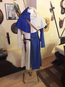 Mittelaltergewand Bogenschütze Larp zweifarbig Unikat