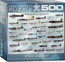 World War II Aircraft Chart (500 Piece Eurographics Jigsaw Puzzle) Military