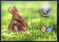 NEW Peter Rabbit Easter gift commemorative coin set