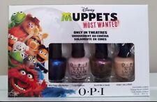 OPI Disney MUPPETS MOST WANTED Nail Polish Color 4 ct Set