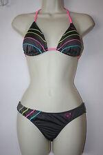 Roxy Quicksilver Woman's String Bikini Set Size Small Triangle top
