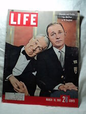 Life magazine Mar 10 1961 BING CROSBY  Computer Chips
