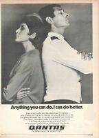 1977 Original Advertising' Vintage Qantas Airlines Australia Anything You Can Do