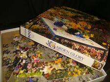 vtg not tested springbok '70s GARDEN GLORY jigsaw puzzle  PZL 2438 McClelland NR
