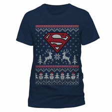 Superman Graphic Fitted T-Shirts for Men