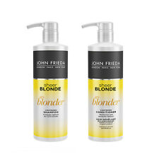 New John Frieda Sheer Blonde Go Blonder Lightening Shampoo & Conditioner 500ml