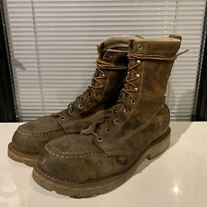 Thorogood Mens Crazy Horse American Heritage 11 D  Leather Work Boots Steel Toes