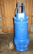 Sewage Grinder Pump BARNES SUBMERSIBLE - MODEL XSGV3032L 3 HP 3 Phase Rebuild