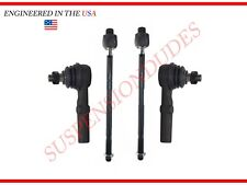 4PC Inner/Outer Tie Rod Ends for 2003-2010 RWD/2WD Dodge Ram 2500 3500