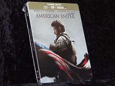 American Sniper Steelbook [Blu-ray] / Weltweit exklusives Artwork / Dt. Tonspur