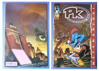 PKNA 28, Paperinik Pikappa PK New Adventures, Metamorfosi