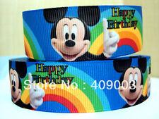 Mickey Mouse Ribbon 7/8 pulgadas de ancho 1m es sólo £ 0.99 Nuevo