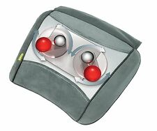 HoMedics Shiatsu Massage Cushion Heat for Legs Back Lumbar Neck Shoulders SP-22H