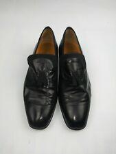 Men's Black Leather Slip-ons Shoes Size 7.5 Lanvin?