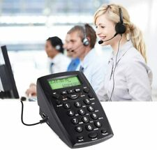 CALLANY Call Center Telephone with Noise Cancellation Headset (HT500)