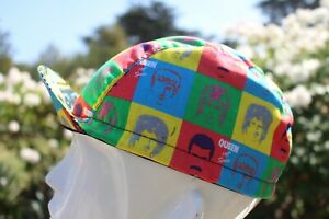 CYCLING CAP QUEEN BAND HANDMADE IN USA   S M L