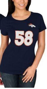 Von Miller Denver Broncos Women's Plus Size Jersey Tee - NWT - FREE SHIPPING!