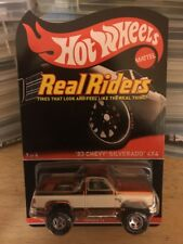 2014 Hot Wheels RLC '83 Chevy Silverado 4X4 Red Line Club Series 13 Real Riders