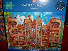 *CASTLE CUTAWAY* GIBSONS 1000 PIECES JIGSAW PUZZLE. NEW!