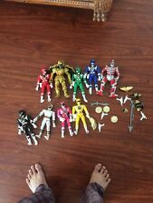 "Mighty Morphin Power Rangers Action 8"" Figure Set Huge Lot Lord Zedd Power Coin"