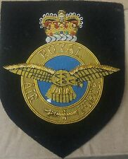 new royal air force blazer crest RAF