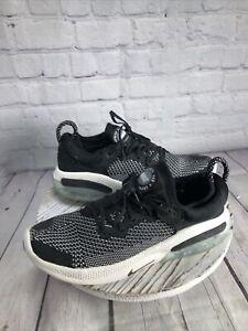 Nike Flyknit Joyride Run Womens 8.5 Black White Athletic Shoes AQ2731-100