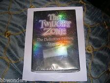 OOP TWILIGHT ZONE DEFINITIVE EDITION SEASON 1 6 DISC BOXSET 2005