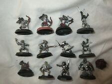 Lord of the Rings Moria Goblin Warrior + Archers + Drummer + Durburz king Metal