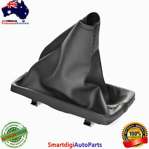 T Bar Handle Cover Gear Knob boot Leather Black For Ford Falcon FG FGX 2008~2018