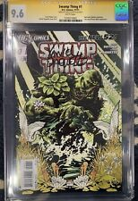 Swamp Thing #1 CGC 9.6 New 52 signed by Yanick Paquette