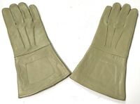 CIVIL WAR US UNION CSA CONFEDERATE LEATHER GAUNTLETS GLOVES-MEDIUM