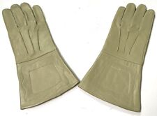 INDIAN WARS US UNION M1876 CAVALRY LEATHER RIDING GAUNTLETS GLOVES-XLARGE