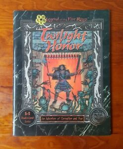 L5R Legend Of The Five Rings RPG Twilight Honor S-2 Shadowlands Series AEG4004