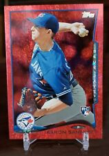 AARON SANCHEZ 2014 Topps Update Target Red Border RC US240 Blue Jays A01