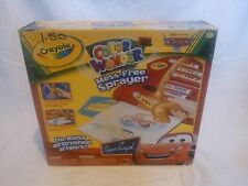 Crayola Color Wonder Cars Mess Free Sprayer