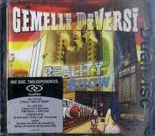 GEMELLI DIVERSI Reality Show CD Dual Disc Near Mint