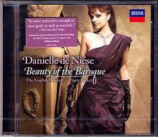 Danielle de NIESE: BEAUTY OF THE BAROQUE Dowland Monteverdi CD Andreas SCHOLL