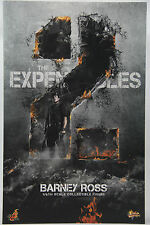 Hot Toys MMS-194 1/6 Barney Ross The Expendables 2 Collectible Figure