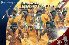 Toy Soldiers Perry Miniatures 28mm Mahdist Ansar Sudanese Tribesmen 1881-1885