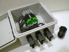 PV Combiner Box - 3-String Combiner - Pre-wired MC4 Connectors
