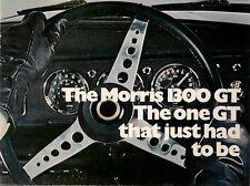 Morris 1300 GT 1969-71 UK Market Sales Brochure
