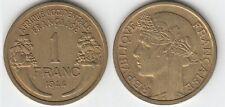 Gertbrolen Afrique Occidentale Française 1 Franc Bronze-Aluminium 1944 Numéro 1