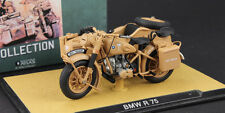Atlas German DAK Afrika BMW R75 Motorcycle 1939-1945 1/24 Diecast Model