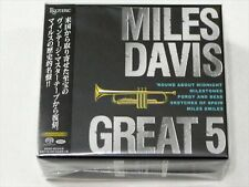 ESOTERIC SACD MILES DAVIS GREAT 5 Japan SACD Super Audio Hybrid BOX SET LTD NEW