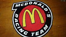 VINTAGE MCDONALD'S  GOLDEN ARCHERSRACING TEAM NASCAR    BACK PATCH 1970'S   BX W