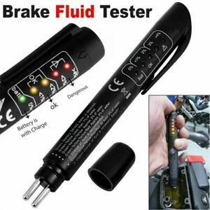 Auto Brake Fluid Tester Pen Tool oil Water Detection Dot 3 Dot 4 Liquid Moisture