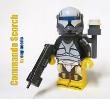 Custom - Scorch - star wars mini figure commando clone trooper ARC lego bricks