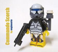 LEGO custom -- Scorch -- star wars mini figure commando clone trooper ARC